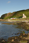 The Protestant church on the south coast of Rathlin Island, Northern Ireland