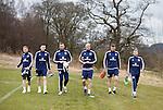 Barry Bannan, Andrew Robertson, Allan McGregor, Alan Hutton, Kevin McDonald and Scott Bain