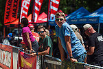 Spectators watch the Pro Mens race participants during the Epic Rides' Inaugural Carson City Off-Road event on Sunday, June 19, 2016 in Carson City, Nev.<br /> Photo by Kevin Clifford/Nevada Photo Source