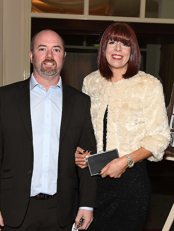 Robert and Bonnie Giggins pictured at the Ardee Traders Awards night in the Nuremore hotel Carrickmacross. Photo:Colin Bell/pressphotos.ie