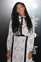 Jessica Williams<br /> at the Sundance Film Festival:London opening photocall, Picturehouse Central, London.<br /> <br /> <br /> ©Ash Knotek  D3270  01/06/2017