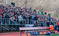 WASHINGTON, DC - FEBRUARY 16: Part of the large crowd at Cardinal Stadium during a game between Seattle Seawolves and Old Glory DC at Cardinal Stadium on February 16, 2020 in Washington, DC.