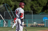 STANFORD, CA - MAY 27: Christian Robinson during a game between Oregon State University and Stanford Baseball at Sunken Diamond on May 27, 2021 in Stanford, California.
