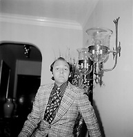 le styliste et critique de mode Gilles Gagne<br /> , date inconnue<br /> <br /> <br /> PHOTO : Agence Quebec Presse - Roland Lachance