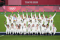 USWNT 2020 Tokyo Olympics Women's Soccer Medal Ceremony, August 6, 2021