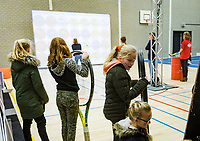 Den Bosch, The Netherlands, Februari 10, 2019,  Maaspoort , FedCup  Netherlands - Canada, Playground<br /> Photo: Tennisimages/Henk Koster