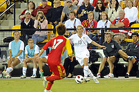 The U.S. Women's National Team defeated the People's Republic of China, 2-1, Saturday, October 2, 2010, at the Atlanta Beat-KSU Soccer Stadium in Kennesaw, Georgia.