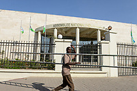 DJIBOUTI City, national assembly, parliament / DSCHIBUTI Parlament
