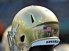 Sept. 1, 2012; Notre Dame vs Navy, Aviva Stadium, Dublin, Ireland..Photo by Matt Cashore/University of Notre Dame