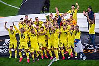 Villarreal players celebrate after winning the UEFA Europa League final match <br /> Gdansk 26/05/2021<br /> Europa League Final <br /> Villarreal Vs Manchester United<br /> Photo Lukasz Laskowski / PressFocus / NEWSPIX.PL  Imago/Insidefoto