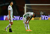 MEDELLIN- COLOMBIA, 28-11-2020:Atlético Nacional  Y América de Cali  en partido por los cuartos de final vuelta como parte de la Liga BetPlay DIMAYOR 2020 jugado en el estadio Atanasio Girardot de la ciudad de Medellín. / Atletico Nacional and America de Cali  in match for the quarterfinal second leg as part of BetPlay DIMAYOR League 2020 played at Atanasio Girardot stadium in Medellin. Photo: VizzorImage / Luis Benavides / Contribuidor