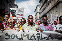 "16.06.2018 - USB: ""Basta Disuguaglianze!"" (Stop Inequalities) – Justice for Soumaila Sacko"
