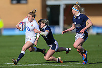 Megan Jones of England during the Guinness Six Nations match between England Women and Scotland Women at Castle Park Stadium, Doncaster, England on 3 April 2021. Photo by Thomas Gadd / PRiME Media Images.