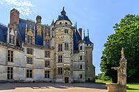 France, Cher, Berry, Route Jacques Coeur, Chateau de Meillant, castle, the Tour du Lion // France, Cher (18), Berry, Route Jacques Coeur, Meillant, château de Meillant, la Tour du Lion
