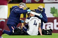 26th October 2020, Turf Moor, Burnley UK; EPL Premier League football, Burnley v Tottenham Hotspur; Tottenham Hotspur defender Toby Alderweireld (4)gets patched up