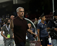 29th August 2021;  Estadio Arechi, Salerno, Campania, Italy;  Serie A Football league, Salernitana versus Roma; Jose Mourinho coach of AS Roma happy at the end of the game