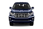 Car photography straight front view of a 2018 Toyota Land-Cruiser-150 Style 3 Door SUV Front View