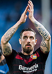 Roberto Hilbert of Bayer 04 Leverkusen reacts during their 2016-17 UEFA Champions League Round of 16 second leg match between Atletico de Madrid and Bayer 04 Leverkusen at the Estadio Vicente Calderon on 15 March 2017 in Madrid, Spain. Photo by Diego Gonzalez Souto / Power Sport Images