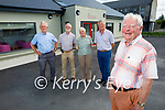 Committee members of the Ard Chúram Day Care Centre in Listowel with an announcement of €73,800 funding from the Department of Community and Rural Affairs to purchase a new bus for the centre. Front right Finbarr Mawe. Back l to r: Brendan O'Sullivan, Mike Moriarty, Kitty McElligott and Pat Carmody.