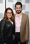 Matthew Saldivar and wife attends the Opening Night After Party for the Lincoln Center Theater Production of 'Junk' on November 2, 2017 at Tavern On The Green in New York City.