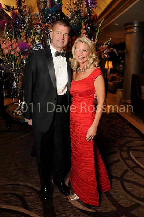 Stephanie and Chris Doyle at the 20th San Luis Salute Friday Feb. 05, 2016.(Dave Rossman photo)