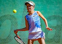 Hilversum, Netherlands, August 6, 2018, National Junior Championships, NJK, Emily Schut (NED)<br /> Photo: Tennisimages/Henk Koster
