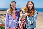 Taking Bella their dog for a walk in Ballybunion on Saturday, l to r: Ellen O'Connor and Hazel Mooney.
