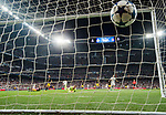 Goalkeeper Jan Oblak of Atletico de Madrid fails to save the goal by Cristiano Ronaldo of Real Madrid during their 2016-17 UEFA Champions League Semifinals 1st leg match between Real Madrid and Atletico de Madrid at the Estadio Santiago Bernabeu on 02 May 2017 in Madrid, Spain. Photo by Diego Gonzalez Souto / Power Sport Images