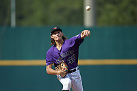 Pico Kohn (30) of Chilton County HS in Verbena, AL of the Colorado Rockies scout team during the East Coast Pro Showcase at the Hoover Met Complex on August 2, 2020 in Hoover, AL. (Brian Westerholt/Four Seam Images)