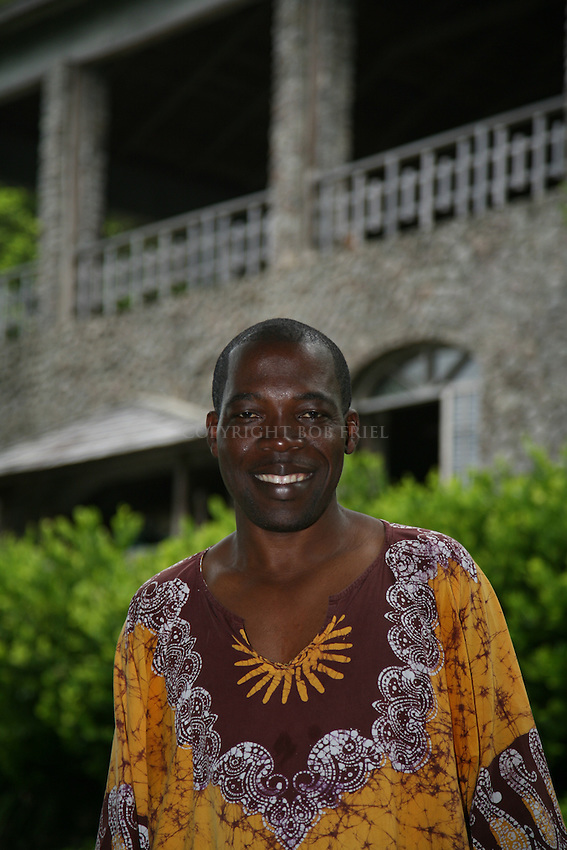 Sam Raphael, owner of Jungle Bay Resort, Spa and Wellness Center, Dominica