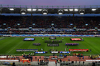 Atmosphere<br /> Roma 9-02-2019 Stadio Olimpico<br /> Rugby Six Nations tournament 2019  <br /> Italy - Wales <br /> Foto Andrea Staccioli / Resini / Insidefoto