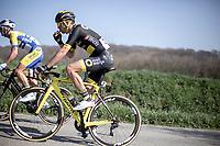 Lilian Calmejane (FRA/Direct Energie)<br /> <br /> <br /> 62nd E3 Harelbeke 2019 (1.UWT)<br /> Harelbeke – Harelbeke: 203,9km<br /> ©kramon