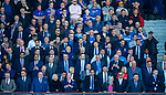 12.05.2019 Rangers v Celtic: Rangers fans and players