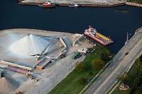 aerial photograph Benton Harbor, Michigan