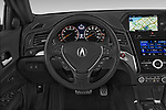 Car pictures of steering wheel view of a 2018 Acura ilx Tech Plus A Spec 4 Door Sedan