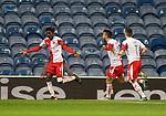 18.3.2021 Rangers v Slavia Prague: Peter Olayinka celebrates his goal