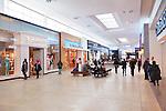 Yorkdale Shopping Centre interior, shopping mall in Toronto, Ontario, Canada 2014.