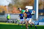 David Clifford, Kerry in action against Jason McGee, Donegal during the Allianz Football League Division 1 Round 7 match between Kerry and Donegal at Austin Stack Park in Tralee on Saturday.