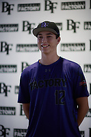 Cory Lewis (12) of Marina High School in Huntington Beach, California during the Baseball Factory All-America Pre-Season Tournament, powered by Under Armour, on January 12, 2018 at Sloan Park Complex in Mesa, Arizona.  (Zachary Lucy/Four Seam Images)