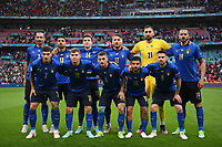 LONDON, ENGLAND - JULY 06: Players of Italy pose for a team photograph prior to the UEFA Euro 2020 Championship Semi-final match between Italy and Spain at Wembley Stadium on July 06, 2021 in London, England. (Photo by Shaun Botterill - UEFA/UEFA via Getty Images)<br /> Photo Uefa/Insidefoto ITA ONLY