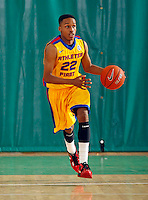 April 10, 2011 - Hampton, VA. USA;  James Woodard participates in the 2011 Elite Youth Basketball League at the Boo Williams Sports Complex. Photo/Andrew Shurtleff