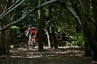 Sam Behr riding a Marin DSX Flat Bar Gravel Bike .  Sunninghill, Berks.  August 2020 .