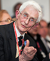 """Dr Jim Swire, whose daughter Flora died when Pan Am Flight 103 crashed at the town of Lockerbie, Scotland, at the Q&A session after the premiere of Al Jazeera's, """"Lockerbie: What Really Happened?"""" at the Scottish Parliament."""