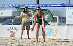 Tulane drops their match to UL Monroe, 3-2, in the Sand Volleyball Tulane Pelican Classic played at Coconut Beach in Kenner.