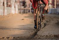 following the 1 rut<br /> <br /> Elite Men's Race<br /> Soudal Jaarmarktcross Niel 2016