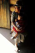 San Juan del Oro, Peru. Woman and child.