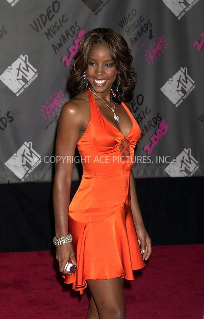 Kelly Rowland at 2003 Video Music Awards. New York, August 28, 2003. Please byline: NY Photo Press.   ..*PAY-PER-USE*      ....NY Photo Press:  ..phone (646) 267-6913;   ..e-mail: info@nyphotopress.com