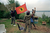 1990 FILE PHOTO (Exact date unknown):  OKA Crisis - Warriors<br /> <br /> <br /> <br /> <br /> <br /> PHOTO :  Agence Quebec Presse - <br /> Robert Galbraith