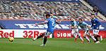 04.10.2020 Rangers v Ross County: James Tavernier scores from the penalty spot