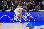 Real Madrid´s Rudy Fernandezduring 2014-15 Euroleague Basketball match between Real Madrid and Galatasaray at Palacio de los Deportes stadium in Madrid, Spain. January 08, 2015. (ALTERPHOTOS/Luis Fernandez)